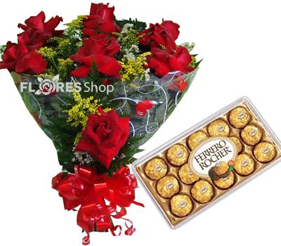 1627 Rosas Vermelhas e Ferreros..hummm
