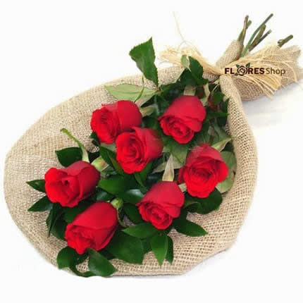 1800 Ramalhete 7 rosas