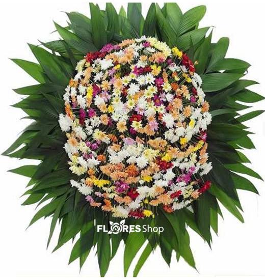 2111 Coroa De Flores Campo Misto