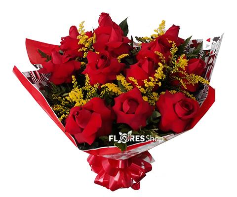 2117 Buquê Rosas Colombianas