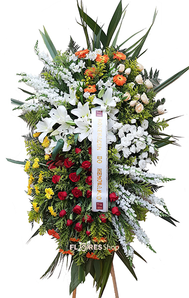 2734 Coroa de Flor Majestosa