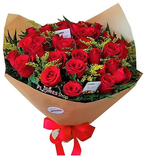 3165 Buquê com 40 rosas