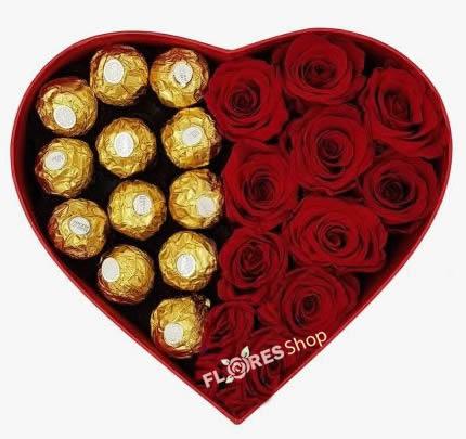 3318 Box coração