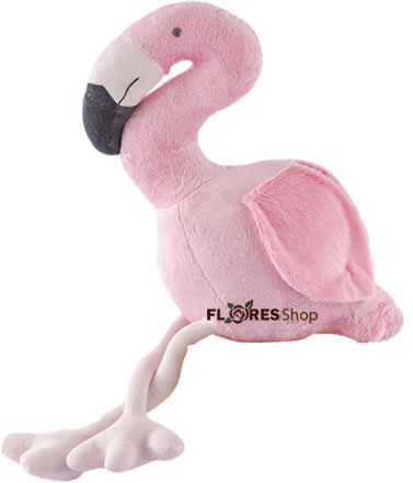 3859 Flamingo de Pelúcia 45cm