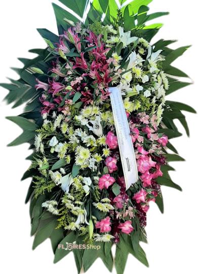 4031 Coroa de flores - Lembrança
