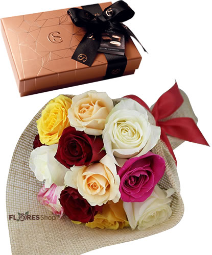 4546 Charme de Rosas e Chocolates