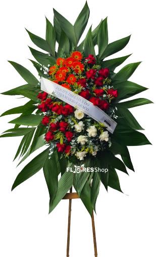 4655 Coroa de Flores Afeto
