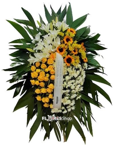 5091 Coroa de Flores Harmonia