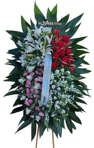5155 Coroa de Flores Sentimento