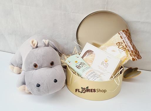 5446 Hipopótamo e Baby Boti