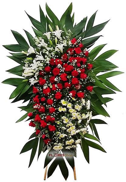 564 Coroa de Flores Rubi