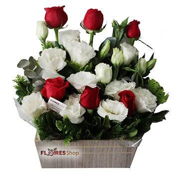 621 Delicado como Rosas e Lisianthus