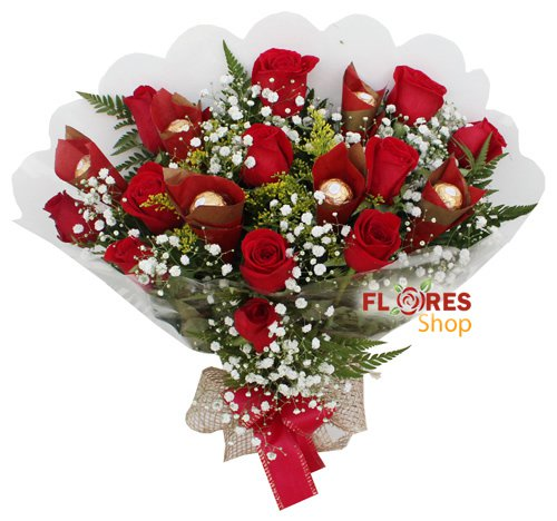 790 Doce Rosas Vermelhas